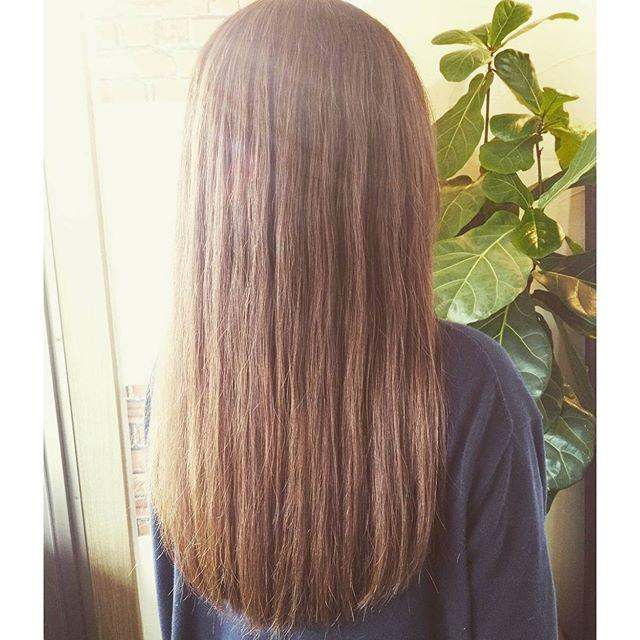クールブラウンくせ毛や多毛でボリューム出る方も軽く見えますよ夏の日差しでキレイに見えるプラチナカラーとブラウンのMix #fashion #makeup #hairstyle #hair #カラー #color #美容室 #カット #アッシュ #髪型 #cut #ヘア #ロング #綺麗 #beautiful #夏 #素敵 #きれい #福島 #郡山 #イマジンヘアー